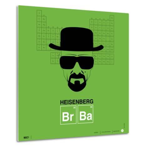 Heisenberg Poster-NaxArt-Metal Print