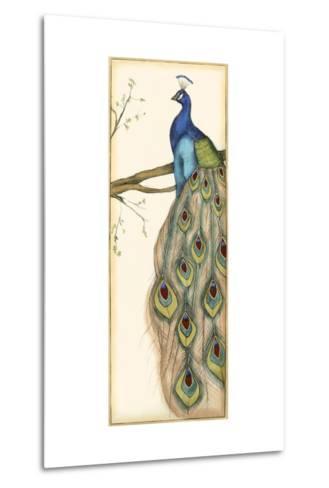Small Rebecca's Peacock II-Jennifer Goldberger-Metal Print