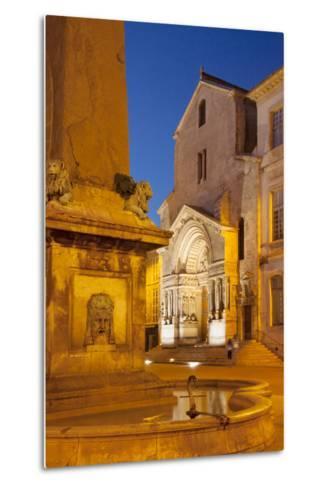 Place De La Republique, Arles, Provence, France-Brian Jannsen-Metal Print