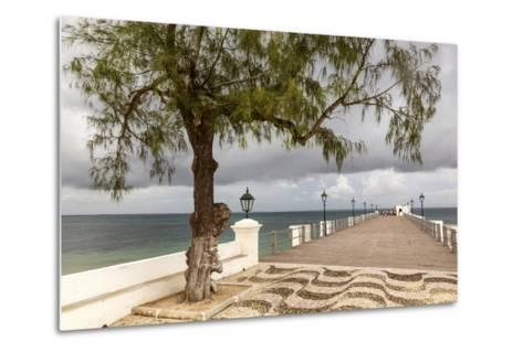 View of the Sea of Zanj from Dock, Mozambique Island, Mozambique-Alida Latham-Metal Print