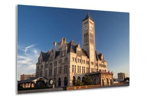 Union Station Hotel, Nashville, Tennessee, USA-Brian Jannsen-Metal Print