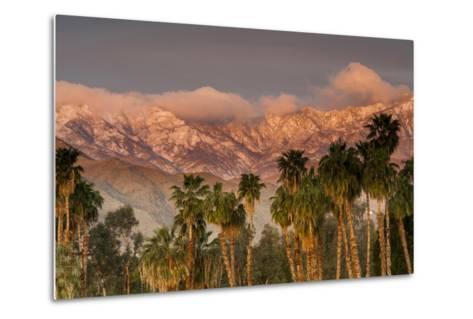 Jacinto and Santa Rosa Mountain Ranges, Palm Springs, California, USA-Richard Duval-Metal Print