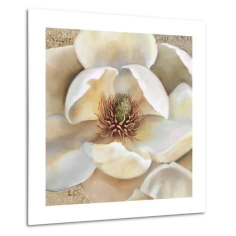 Magnolia Masterpiece II-Louise Montillio-Metal Print