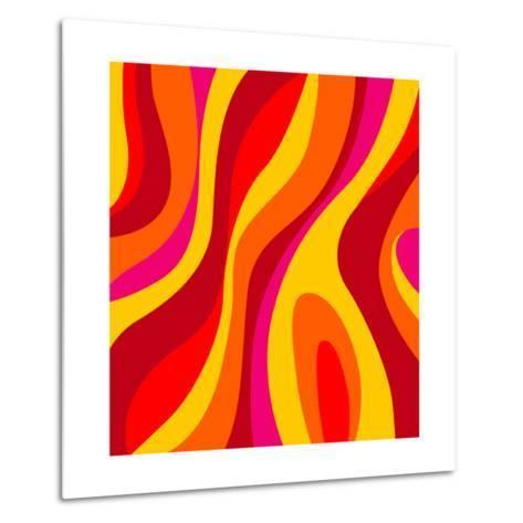 Sixties Design-UltraPop-Metal Print