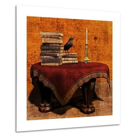 Mysterious Table-Petrafler-Metal Print