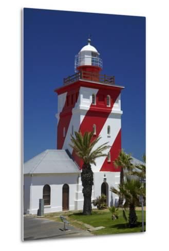 Mouille Point Lighthouse (1824), Cape Town, South Africa-David Wall-Metal Print