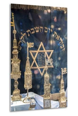 Silver Spice Containers, Dohany Synagogue, Budapest, Hungary-Jim Engelbrecht-Metal Print