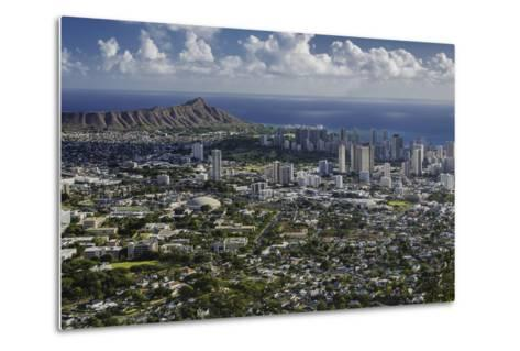 Honolulu, Hawaii, USA-Charles Crust-Metal Print