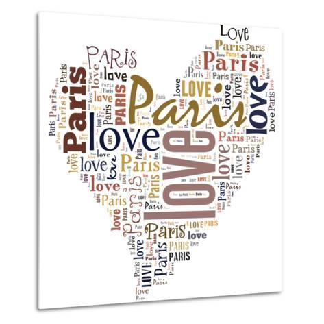 I Love Paris!-alanuster-Metal Print