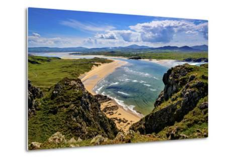 Five Fingers Strand at Malin in Donegal-Chris Hill-Metal Print