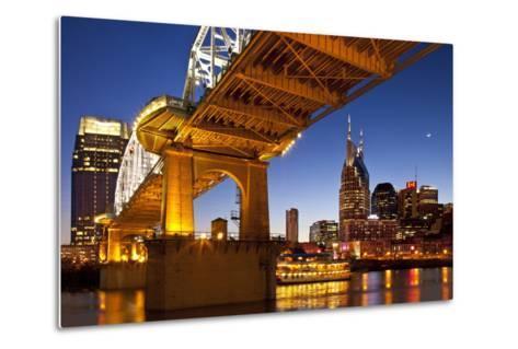 General Jackson Stern Wheel Show Boat, Nashville, Tennessee, USA-Brian Jannsen-Metal Print