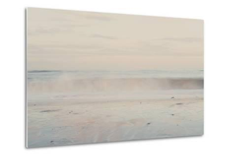 The Sound of the Waves ...-Laura Evans-Metal Print