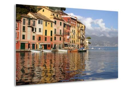 Riviera of Portofino, Italy-Kymri Wilt-Metal Print