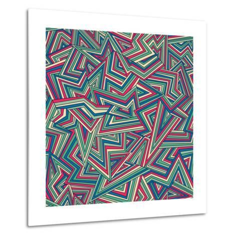 Abstract Pattern-Magnia-Metal Print