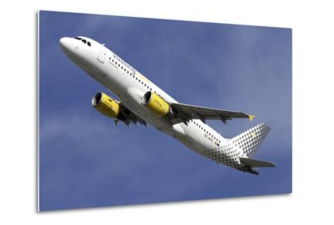 Airbus A320 of Vueling Airlines--Metal Print
