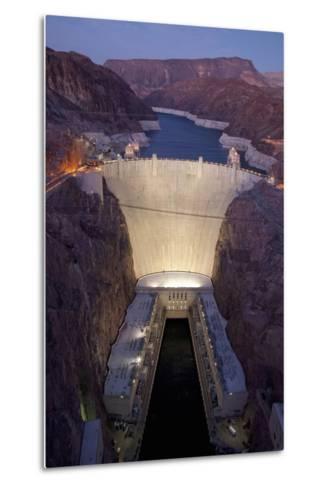 Hoover Dam, near Boulder City and Las Vegas, Nevada-Joseph Sohm-Metal Print
