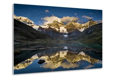 Mt Alpamayo in Ancash Region, Cordillera Blanca, Andes Mountains, Peru-Howie Garber-Metal Print