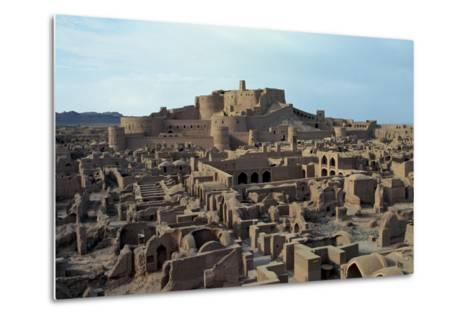 View of the Ancient Mud-And-Clay Citadel--Metal Print