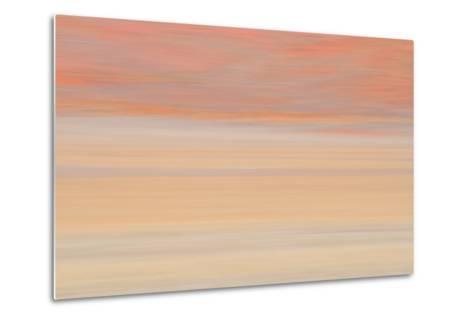 Africa, Namibia. Abstract of Heat Distorting Grassy Plain-Jaynes Gallery-Metal Print