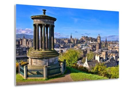 Classic Edinburgh View-Jeni Foto-Metal Print