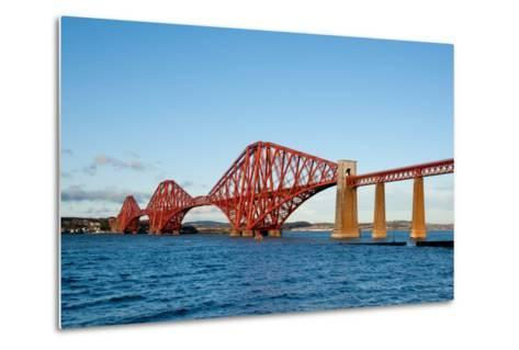 The Forth Bridge, Finally, Painted!- Versevend-Metal Print