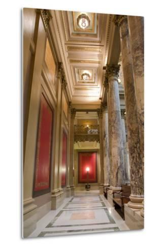 Minnesota Capitol Corridor-jrferrermn-Metal Print