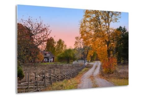 Landscape in Sweden-almgren-Metal Print