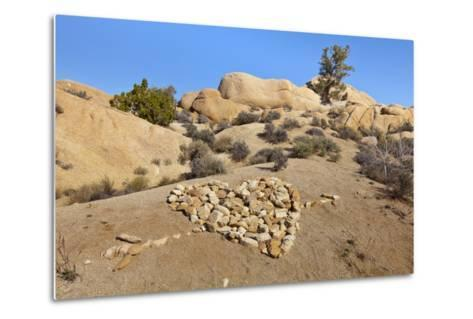 Arrow Through Heart, Joshua Tree NP, California, USA-Jaynes Gallery-Metal Print