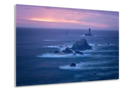 Lighthouse La Vieille, Bretagne, France-Philippe Manguin-Metal Print