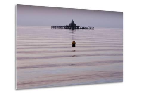 Old Pier, Herne Bay-Adrian Campfield-Metal Print