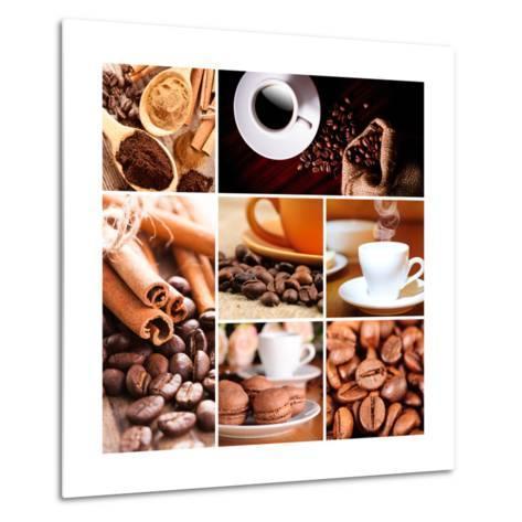 Coffee Concept-oksix-Metal Print