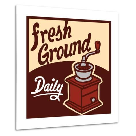 Fresh Ground-Bigelow Illustrations-Metal Print