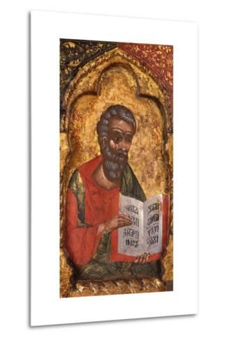 Apostle from Church of Saint Mary Vllaherna-Nicholas (Nikolla) Onufri-Metal Print
