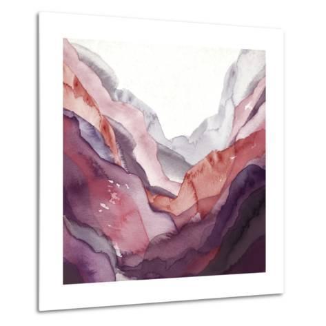 Rose Quartz B-GI ArtLab-Metal Print