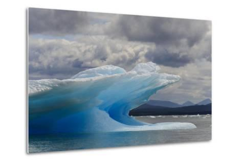Icebergs in Laguna San Rafael, Laguna San Rafael NP, Aysen, Chile-Fredrik Norrsell-Metal Print