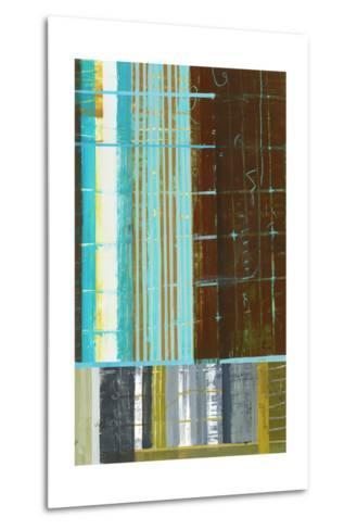 Abstract 1-Akiko Hiromoto-Metal Print