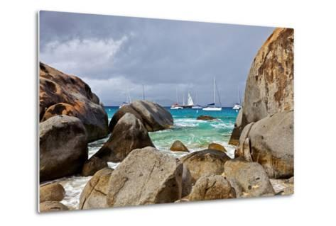 The Baths on Virgin Gorda, British Virgin Islands-Joe Restuccia III-Metal Print