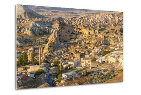 Aerial View of Cappadocia, Central Anatolia, Turkey-Ali Kabas-Metal Print
