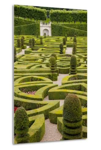 Formal Gardens of Chateau Villandry, Loire Valley, France-Brian Jannsen-Metal Print