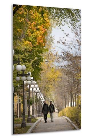 Autumn, Quebec City, Quebec, Canada-Cindy Miller Hopkins-Metal Print