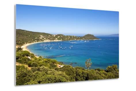 Campomoro Bay on Corsica-Massimo Borchi-Metal Print