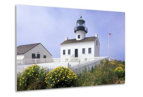 Point Loma Lighthouse, San Diego, California, USA-Peter Bennett-Metal Print