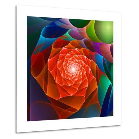 Chaos Space Flower- sgame-Metal Print