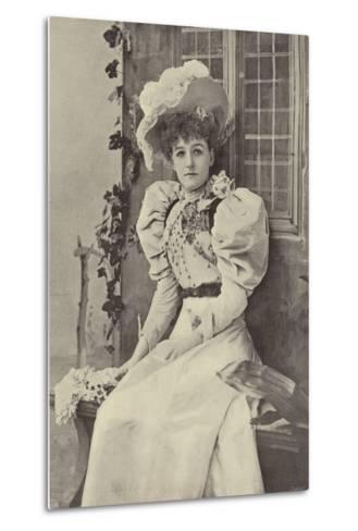 "Miss Ethel Haydon, as Alice in ""Dandy Dick Whittington""--Metal Print"