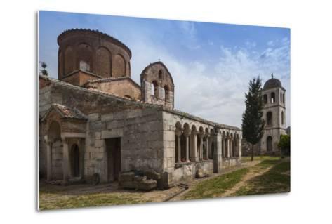 Albania, Fier, Ruins of Apollonia, Byzantine Monastery and Museum-Walter Bibikow-Metal Print