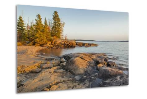 Canada, Ontario, Terrace Bay, Rainbow Falls Provincial Park-Frank Zurey-Metal Print