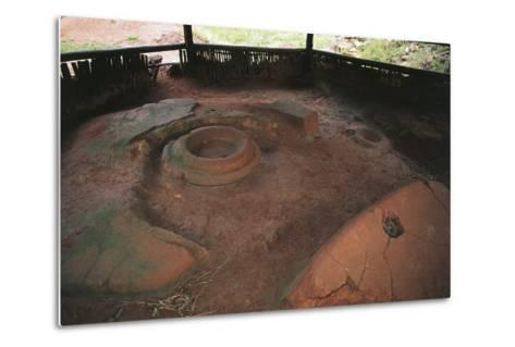 Zimbabwe, Masvingo, Great Zimbabwe National Monument, Ruins of Old Town--Metal Print