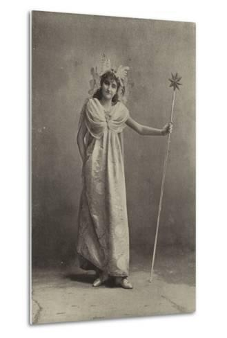 """Miss Minnie Terry, as the Sylph Coquette in """"Cinderella""""--Metal Print"""