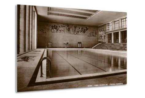 Indoor Swimming Pool, Foro Mussolini, Rome--Metal Print