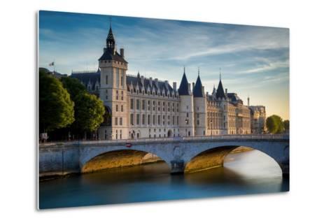 The Concierge, Pont Au Change and River Seine, Paris France-Brian Jannsen-Metal Print